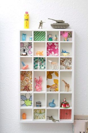 clever shelving idea pinterest