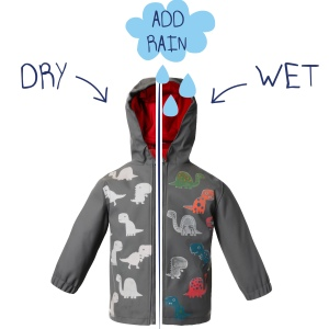 squidkids boys raincoat