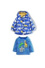 Boden coat and t-shirt