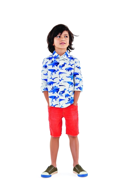 Boden kids shirt and shorts