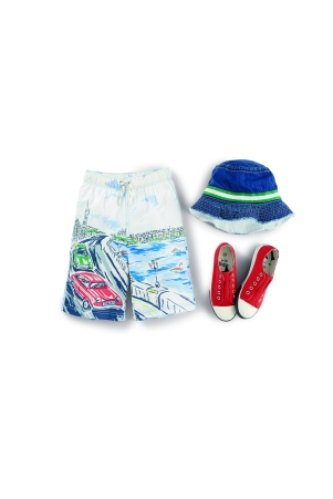 Boden boys shorts and accessories