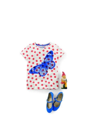 Boden girls t-shirt and shoes