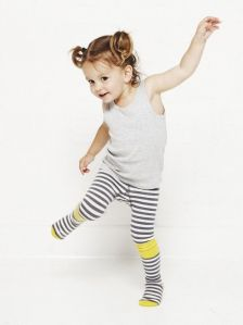 Little Titans stripy tights by braveling