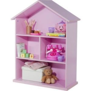 argos doll's house bookcase