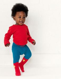 Little Titans Superhero tights braveling