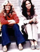 Farrah Fawcett and Jaclyn Smith