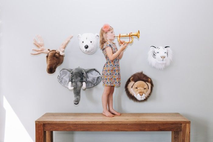 Nubie Kids Boutique Animal Wall Heads